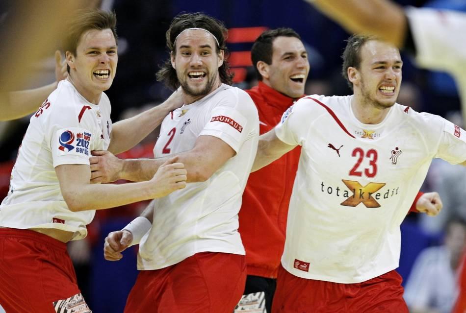EM håndbold Danmark - Sejr over Spanien i EM semifinalen 2012