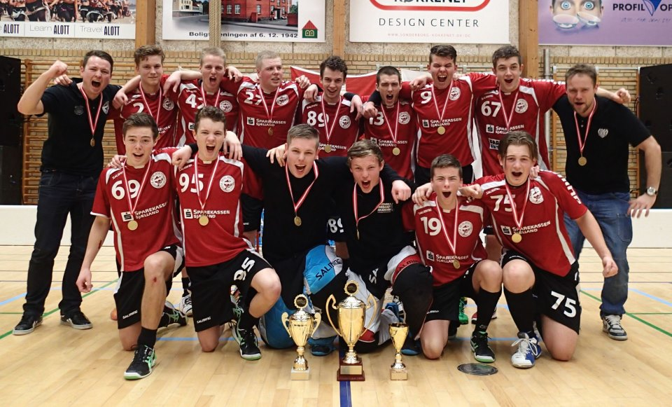 Benløse Floorball Club U19 vandt DM-guld i 2013